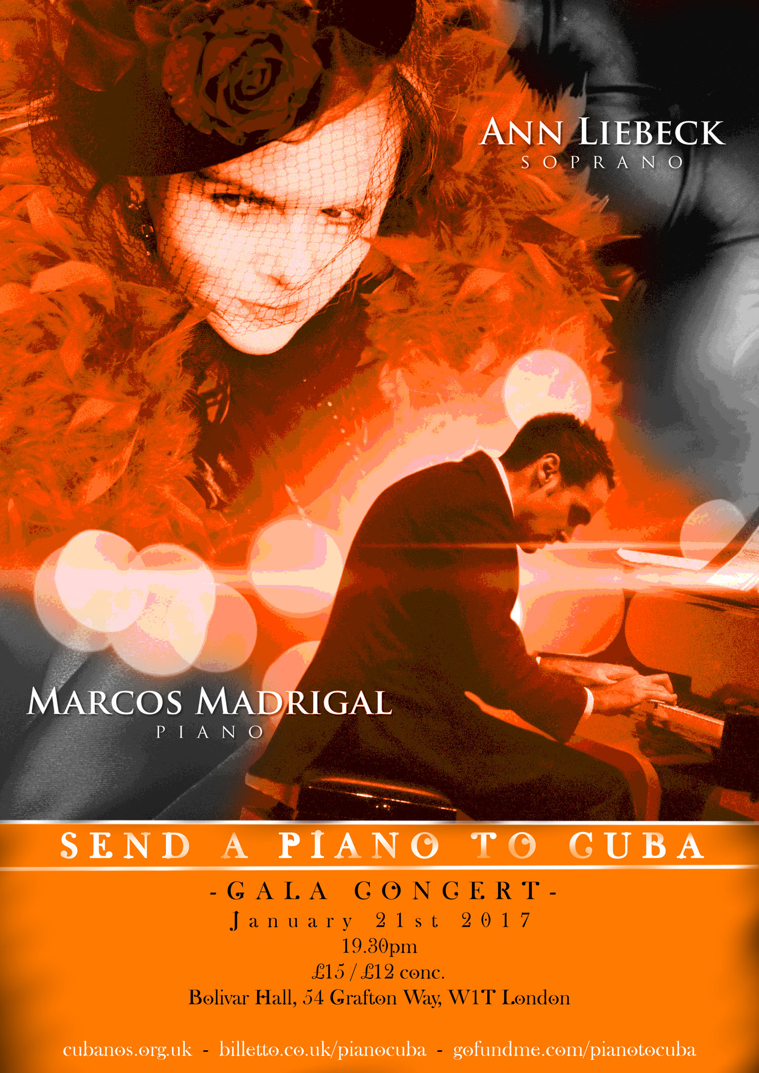Marcos Madrigal - Send a Piano Cuba