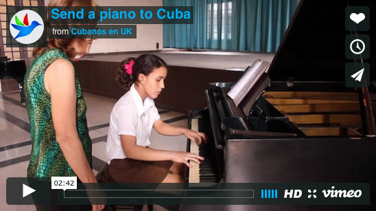 Send a piano to cuba video